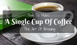 How to make a single cup of coffee