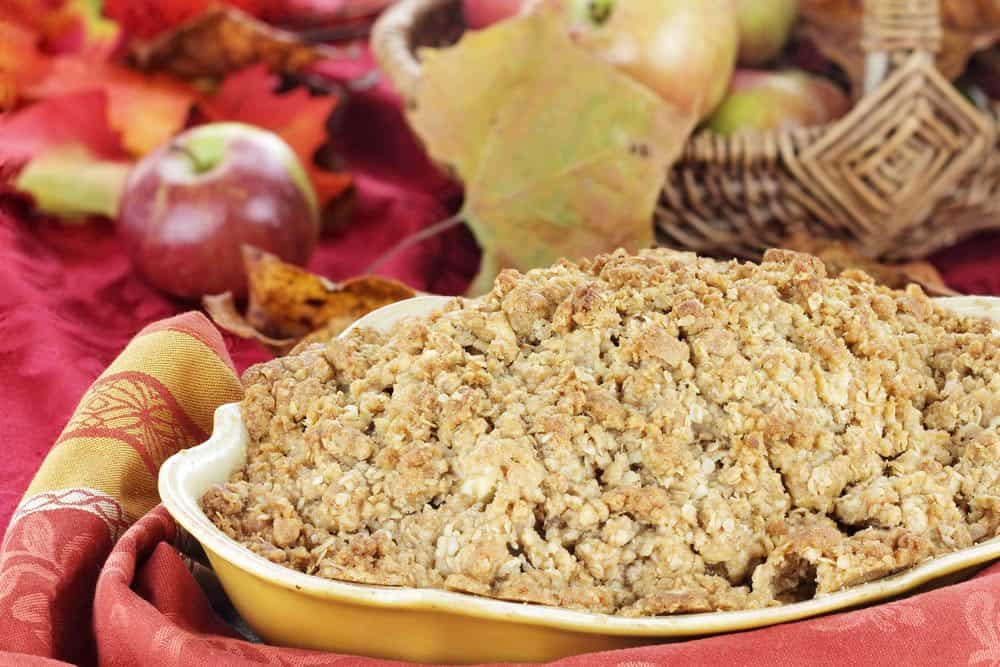 Back To The Culinary Basics: Mom's Apple Crisp Just Like You Remember It