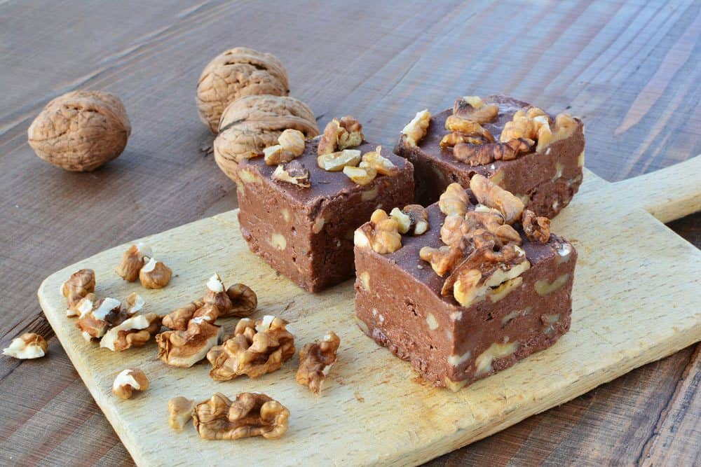 easy vegan fudge